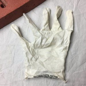 Cotton Insert For Chemical Protective Glove Sz S